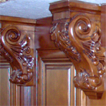 Corbels and Rosettes